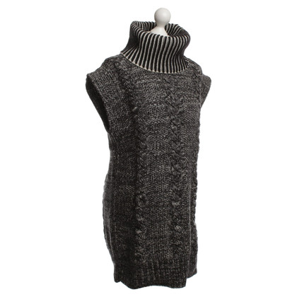 See by Chloé Knit dress in black/white