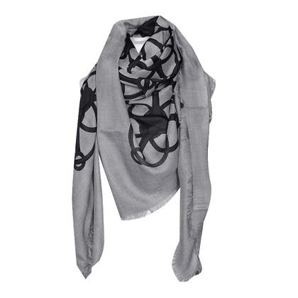 Gucci Doek in grijs/zwart