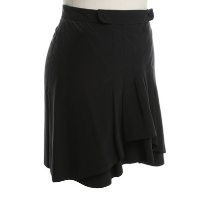 Chloé Silk skirt in black
