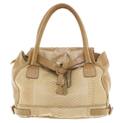 Chloé Handbag with snakeskin