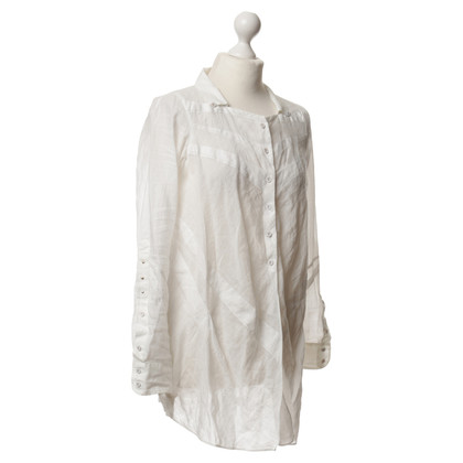 Marithé et Francois Girbaud Blouse in white
