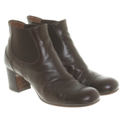 Pantanetti Leather ankle boots