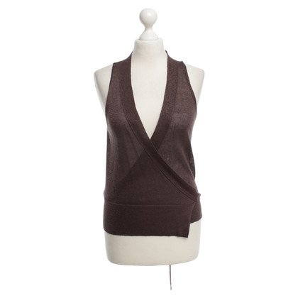 Fabiana Filippi Cardigan in Brown