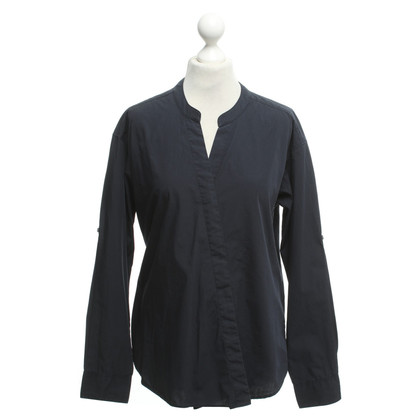 Closed Blouse in donkerblauw