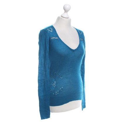 Patrizia Pepe Sweater in turquoise
