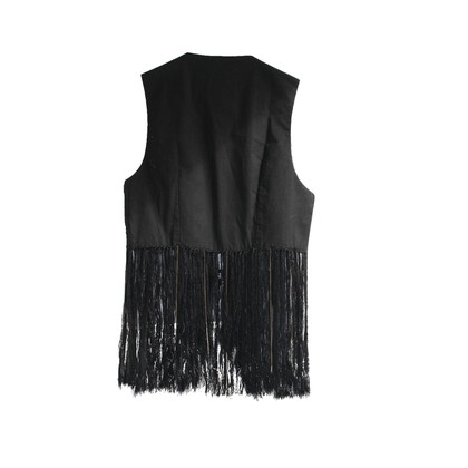 Pinko Vest with fringes