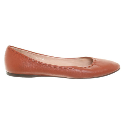 Hugo Boss Ballerine in ruggine marrone