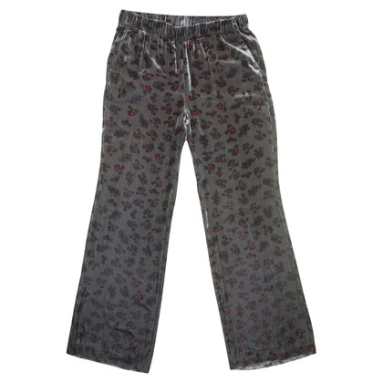 Dorothee Schumacher Pantaloni in velluto con motivo