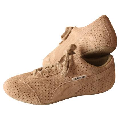 Jil Sander Sneaker perforated suede