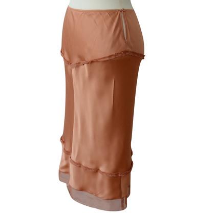 Prada skirt made of silk