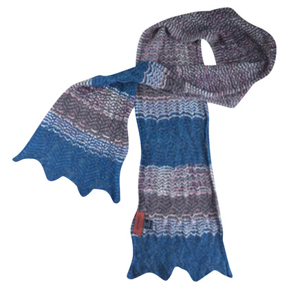 Missoni Scarve petrol brownc blue