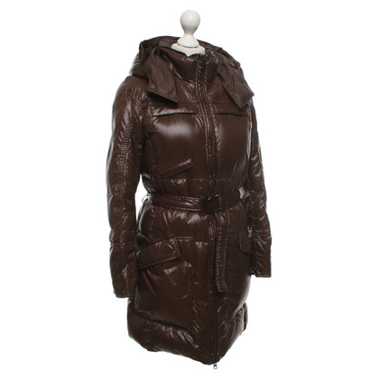 Add Down jacket in brown
