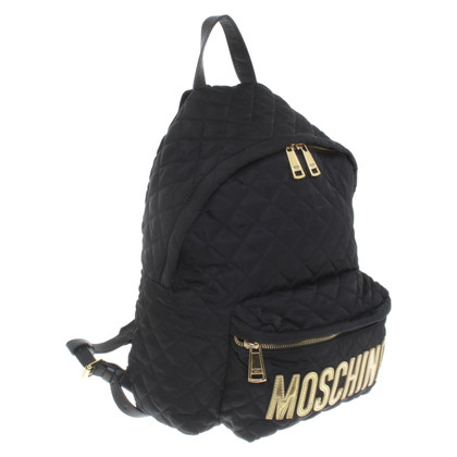 Moschino Backpack in black