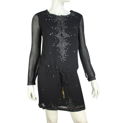 Antik Batik Black dress with sequins