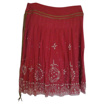 Kenzo skirt with embroidery