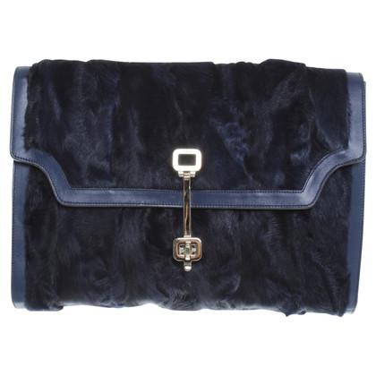 Tod's clutch in dark blue