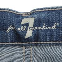 7 For All Mankind Jeans shorts in blue