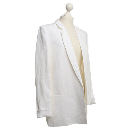 Michael Kors Linnen blazer in wit