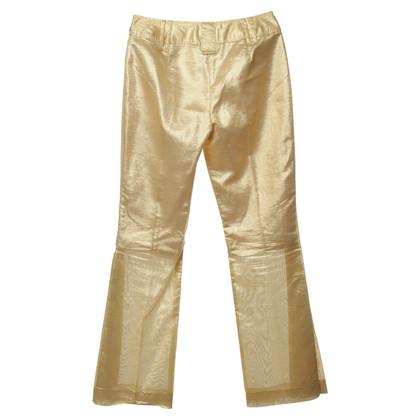 Dolce & Gabbana Pantaloni in oro
