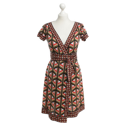 Diane von Furstenberg Wrap dress in colorful