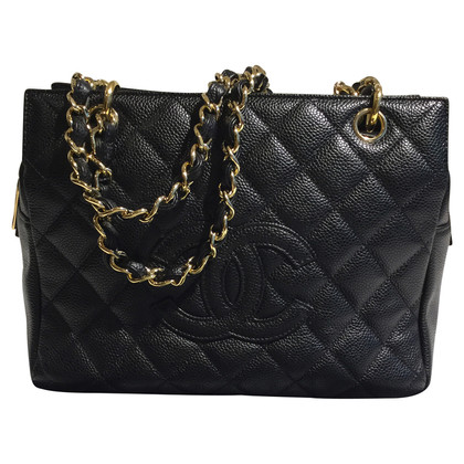"Chanel ""Petit shopping Tote"" in nero"