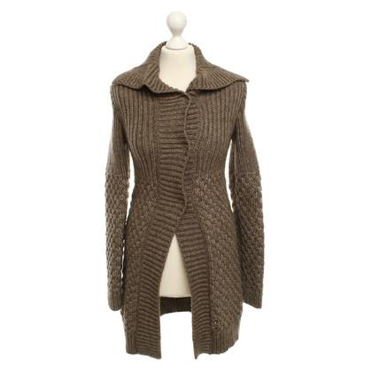 Strenesse Blue cappotto lavorato a maglia, grigio / sabbia (?)