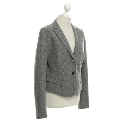 René Lezard Lana giacca in grigio