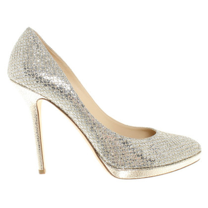Jimmy Choo pumps in zilver