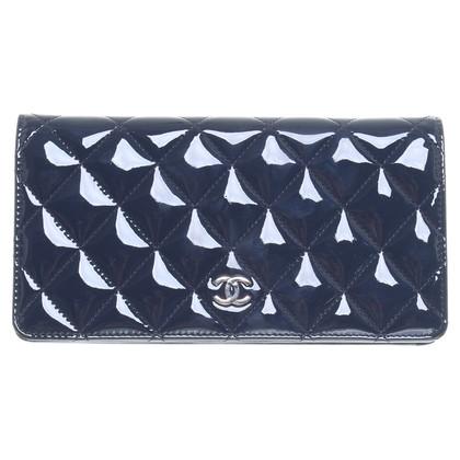 Chanel Portemonnee in donkerblauw