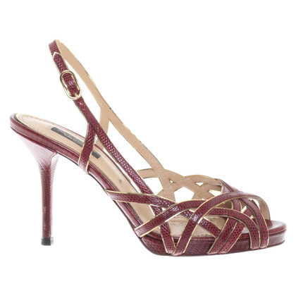 Dolce & Gabbana Sandali in pelle
