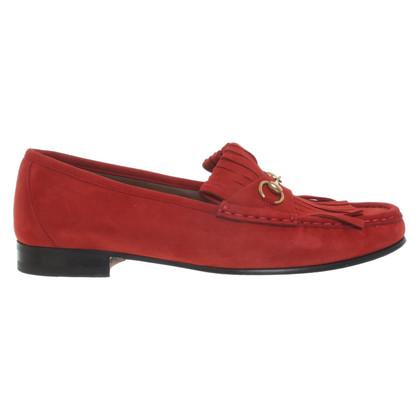 Gucci Slipper in rosso