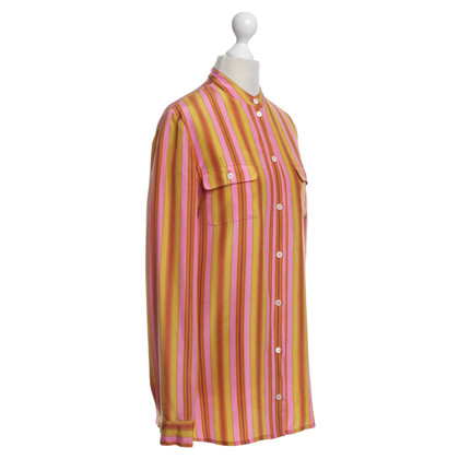 Céline Blouse with colorful striped pattern