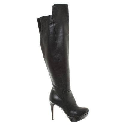 Stuart Weitzman Leather boots in black