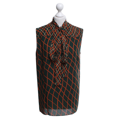 Gucci Blouse with check pattern