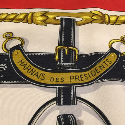"Hermès Carré ""Harnais des presidenti"""