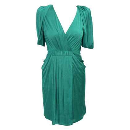 BCBG Max Azria Kleid in Smaragdgrün