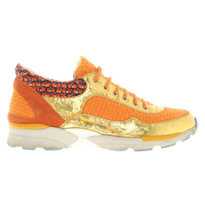 Chanel Sneakers in orange
