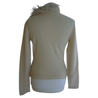 Roberto Cavalli Sweater with decorative trimming