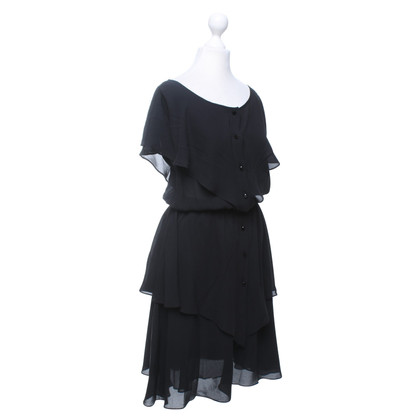 Escada Chiffon jurk in de gelaagdheid