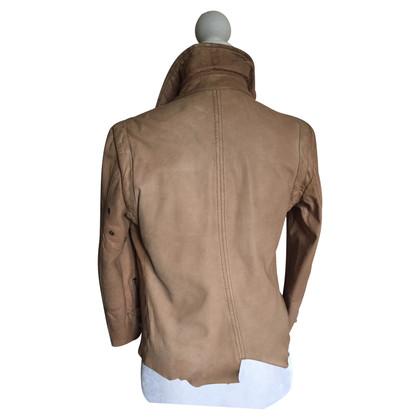 Patrizia Pepe Vintage soft leather jacket