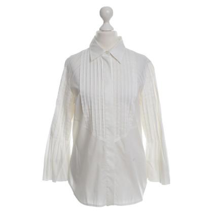 Other Designer Kathleen Madden - blouse in white
