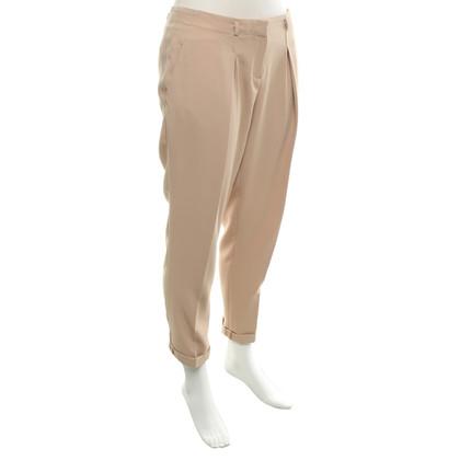 Elisabetta Franchi trousers in beige