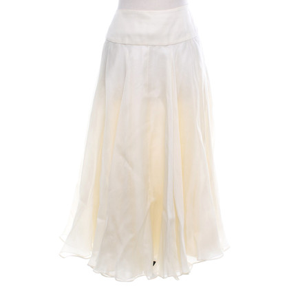 Ralph Lauren Silk skirt in cream