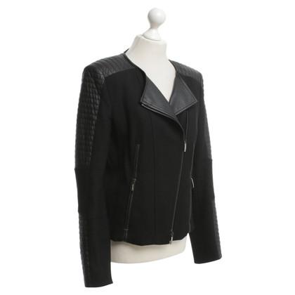 Laurèl giacca da motociclista in nero