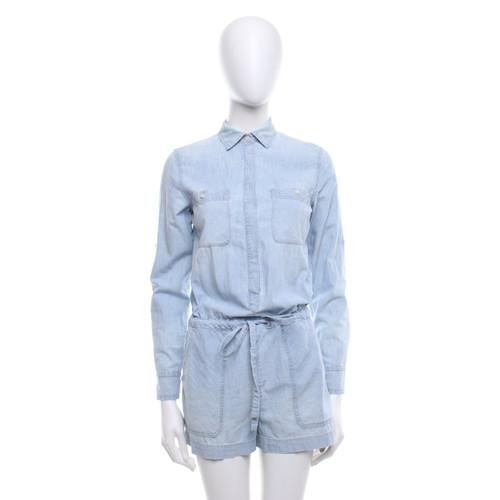 101788f59693 Ralph Lauren Jumpsuit in light blue - Second Hand Ralph Lauren ...