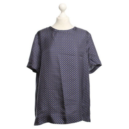 Max Mara Silk top with pattern