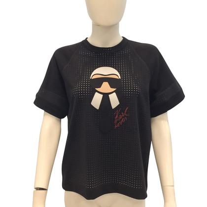 Fendi Sweatshirt in black