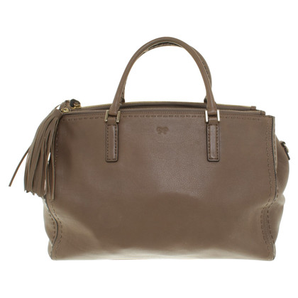 Anya Hindmarch Handtas in taupe