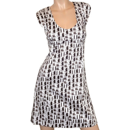 Karen Millen Dress in sepia style