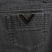 Red Valentino Grey jeans with washing